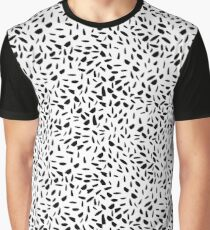 Seamless pattern with hand drawn ink dots Graphic T-Shirt