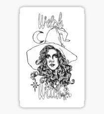 Welsh Witch Sticker