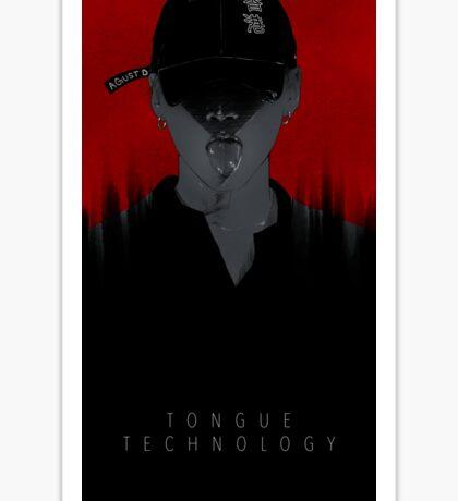 Tounge Technology Sticker