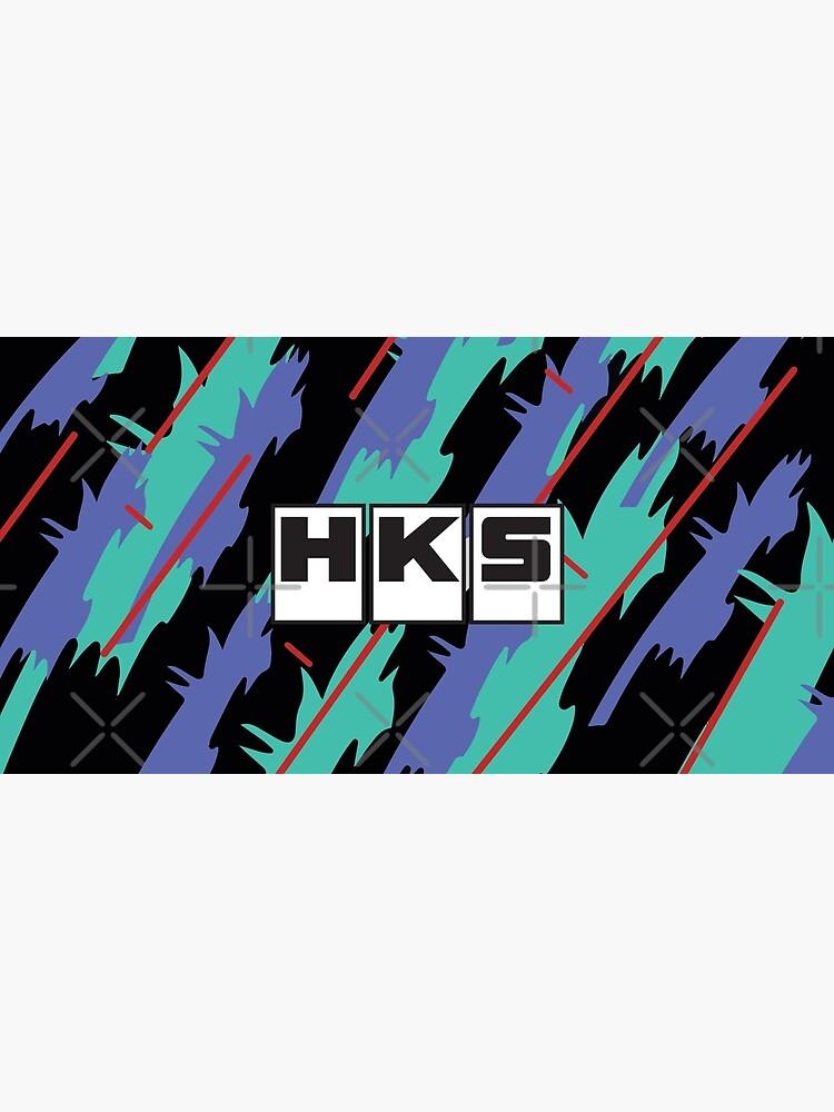 HKS Retro Pattern by JDMShop