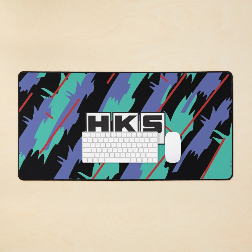 HKS Retro Pattern Mouse Pad