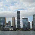 Jersey City Skyline, Jersey City, New Jersey by lenspiro
