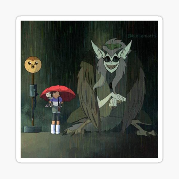 TOH My Neibour| Perfect Gift | Owl House gift for fans Sticker
