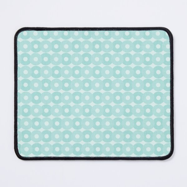 Green Geometric Pattern Mouse Pad