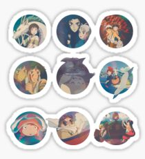Studio Ghibli Movies Sticker
