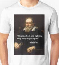 Galileo's famous quote Unisex T-Shirt