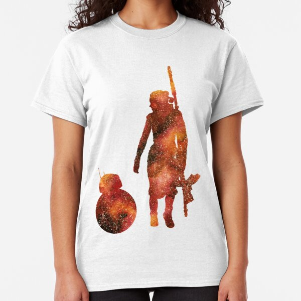 The Droid & The Girl with the Staff Classic T-Shirt