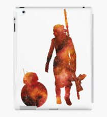 The Droid & The Girl with the Staff iPad Case/Skin