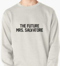 The future Mrs. Salvatore Pullover