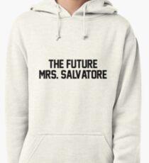 Sudadera con capucha El futuro Sra. Salvatore