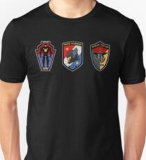 Pacific Defense Core badges Unisex T-Shirt
