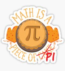 Math Pi  Sticker
