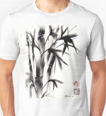 Compassion - Original Zen Spiritual Bamboo painting dedicated to the Dali Lama T-Shirt