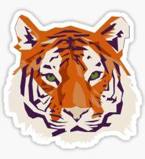 Pretty Geometric Kitty Sticker