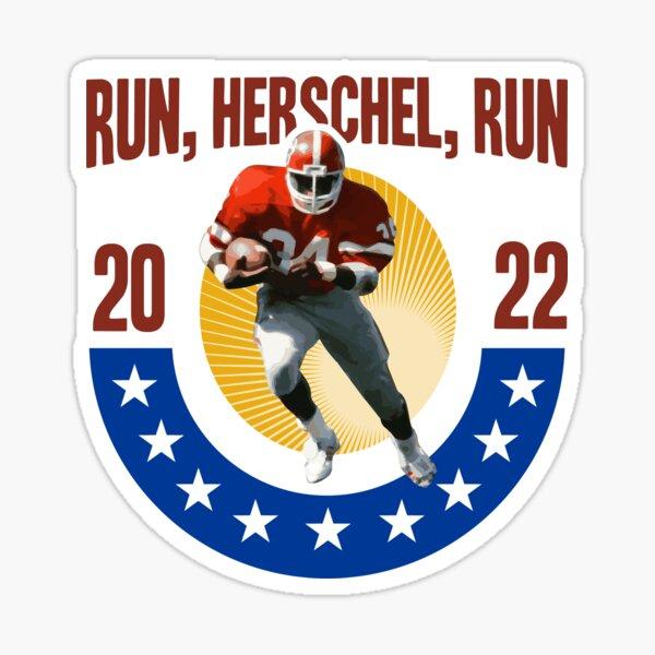 Herschel Walker for Senate Georgia 2022 senate election sticker Sticker