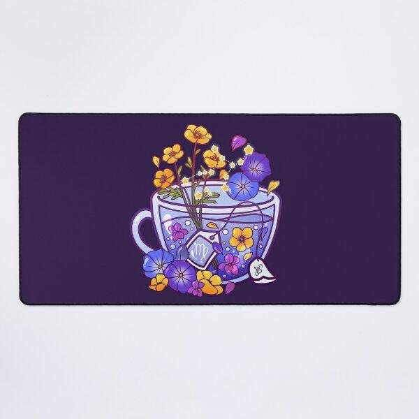 Virgo Zodiac Teacup Desk Mat