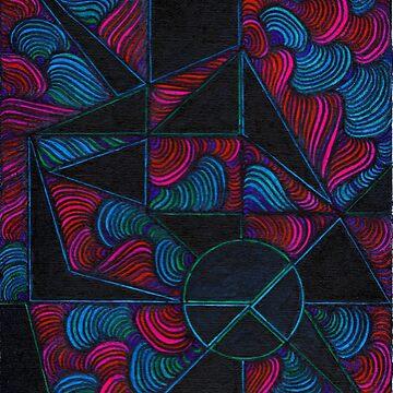 Geometric Shells by JordyatLyndsey