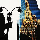 Reflections, New York by Roz McQuillan