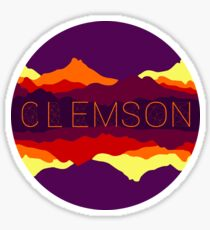 Clemson Sunsets Sticker