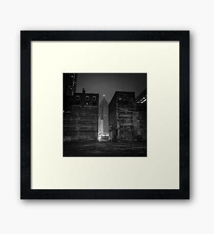 In Between Framed Print