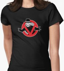 Guybusters Womens Fitted T-Shirt