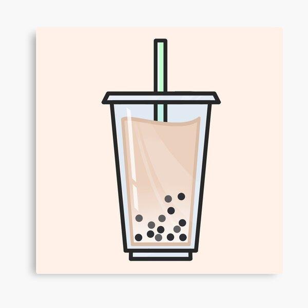 Jasmine Bubble Tea Canvas Print