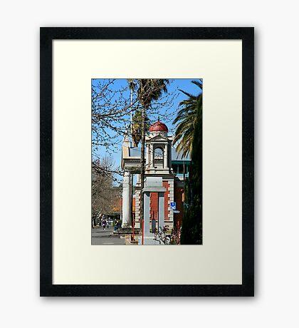 Castlemaine, Victoria Framed Print
