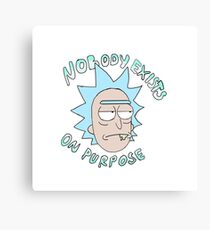 Rick Sanchez Canvas Print