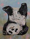 Panda Headstand by Michael Creese