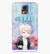 Babe Zen Watercolour Case/Skin for Samsung Galaxy