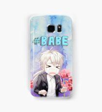Babe Zen Watercolour Samsung Galaxy Case/Skin