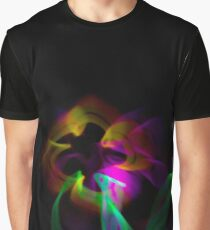 Light Flowers Graphic T-Shirt