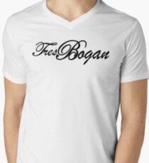 Tres Bogan Mens V-Neck T-Shirt