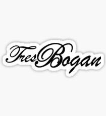 Tres Bogan Sticker