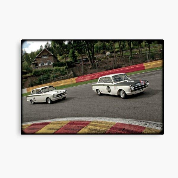 CORTINA Mk I  Fine Art Print Lotus Alan Mann Racing SPORTING FORDS GT 1964
