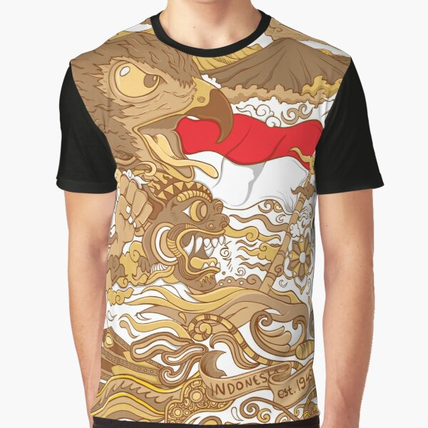 Rise of Indonesia Graphic T-Shirt