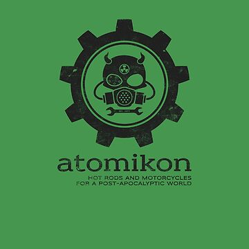 ATOMIKON Hot Rods & Motorcycles by stoneyridge