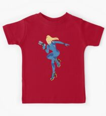 Zero Suit Samus Vector Kids Tee
