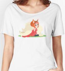 Kitsune Vector Women's Relaxed Fit T-Shirt