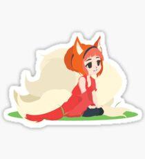 Kitsune Vector Sticker