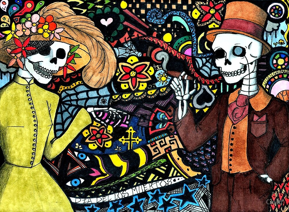 «Dia De Los Muertos» de Cuiatl