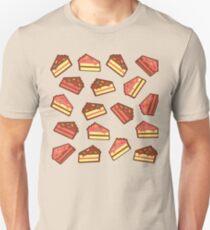 Turquoise Cake Pattern Unisex T-Shirt