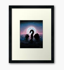 Silent Friends Framed Print