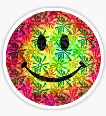 Smiley face - retro Sticker