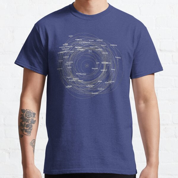 Moons of Saturn Classic T-Shirt