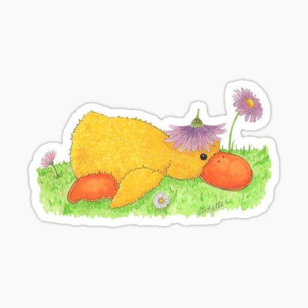 The Golden Duckling Sticker