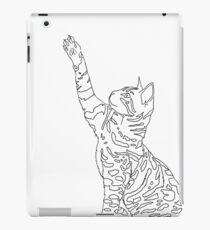 Bengal Cat Playing iPad Case/Skin