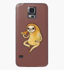 Sloth Eating Pizza Case/Skin for Samsung Galaxy