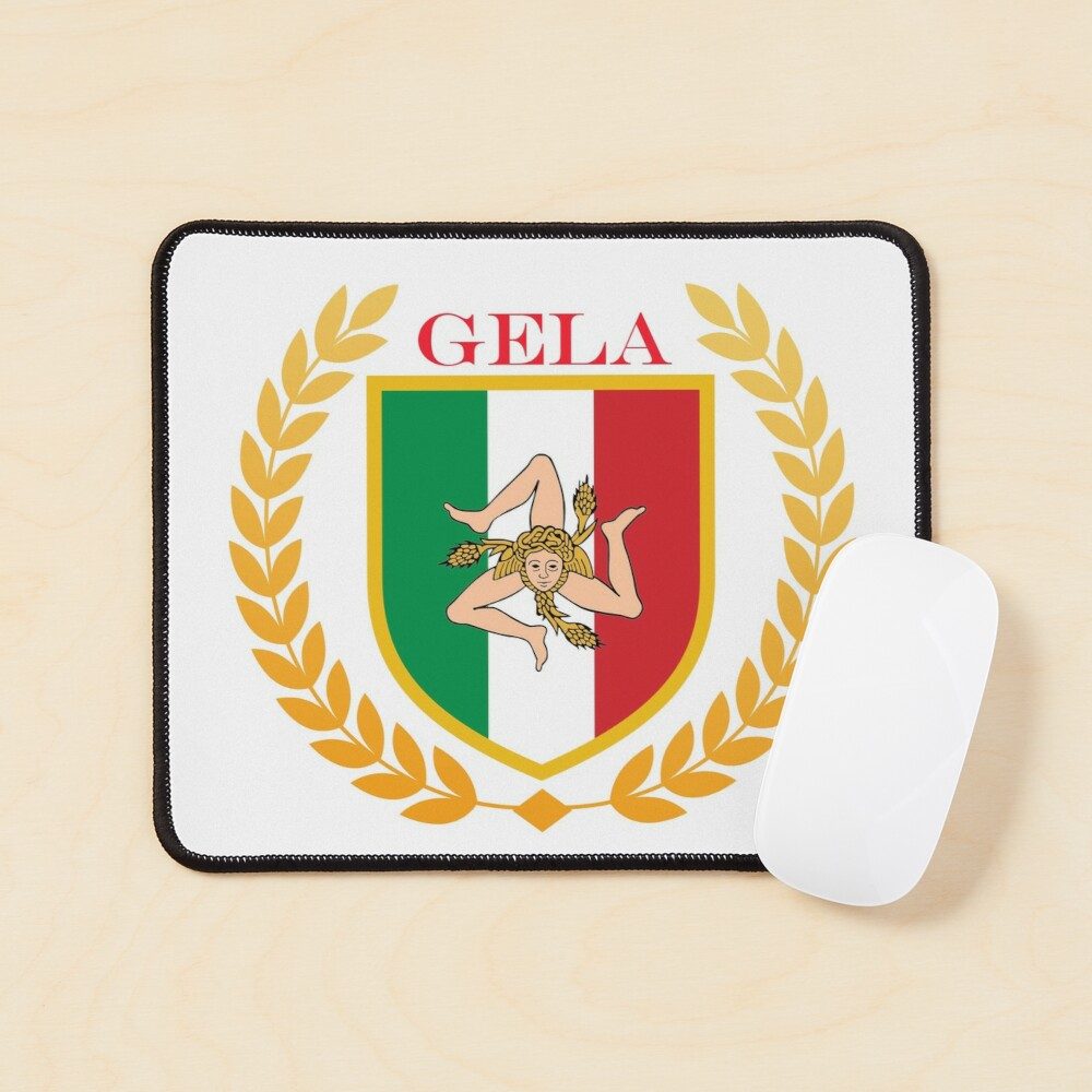 Gela Sicily Italy Mouse Pad