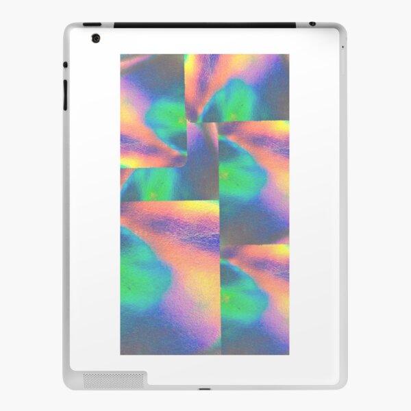 iridescent blocks  iPad Skin